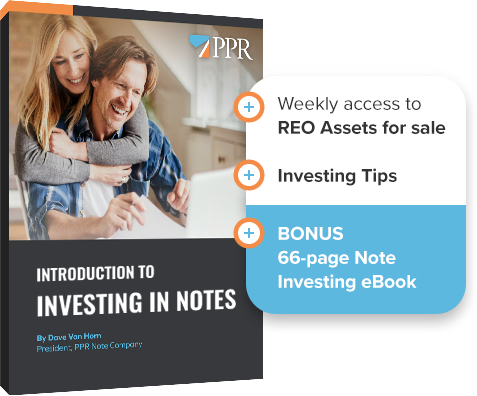 Newsletter Signup with Note Investing eBook
